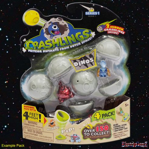 Crashlings 4 Pack - Dino Crashlings