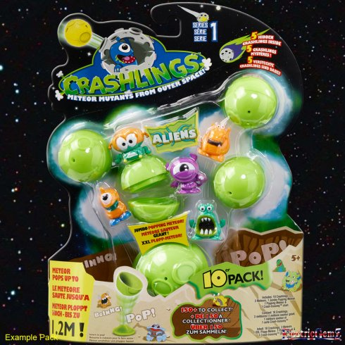 Crashlings Series 1 10-Pack - Alien Crashlings