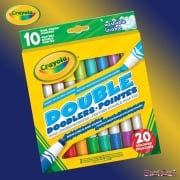 Crayola 10 Double Doodler Markers with 20 Colours