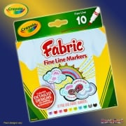 Crayola 10 Fabric Markers