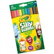 Crayola 10 Silly Scents Scented Slim Markers