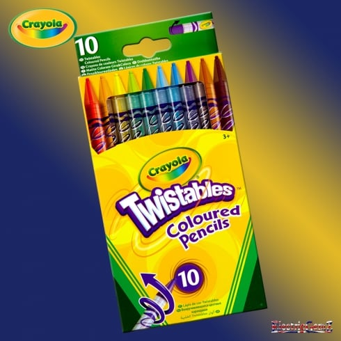 Crayola 10 Twistables Coloured Pencils