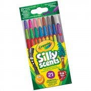 Crayola 21 Silly Scents Scented Mini Twistable Crayons