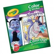 Crayola 32-Page Vampirina Colour 'n' Sticker Book