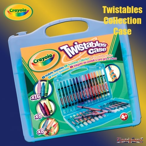 Crayola 32 Twistables Case - Blue