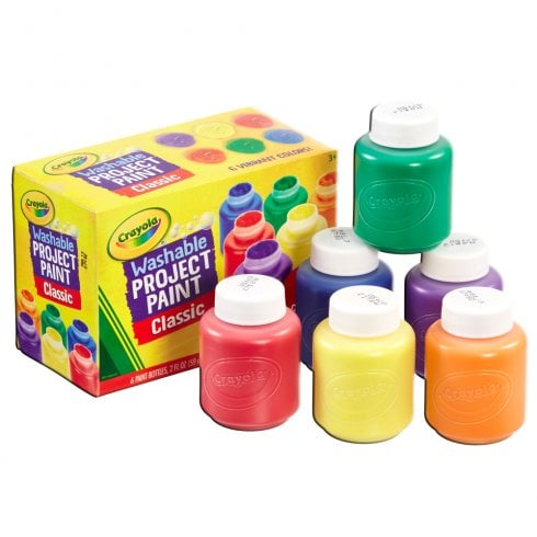 Crayola 6 Washable Kids' Paints