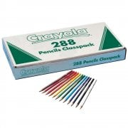 Crayola Class Pack 288 Coloured Pencils