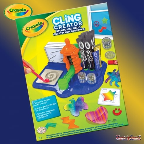 Crayola Cling Creator Activity Kit