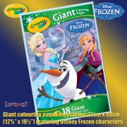Crayola Disney Frozen Giant Colouring Pages