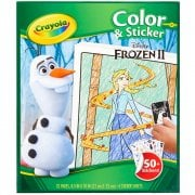 Crayola Disney Frozen II 2 32 Page Colour n Sticker Pack