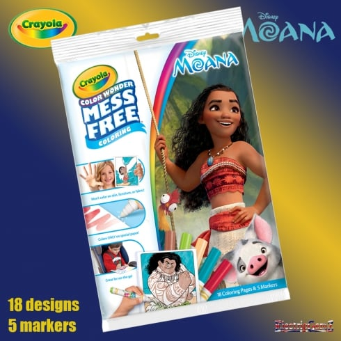 Crayola Disney Moana Color Wonder