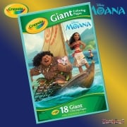 Crayola Disney Moana Giant Colouring Pages