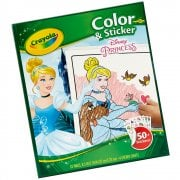 Crayola Disney Princess 32 Page Colour 'n' Sticker Pack