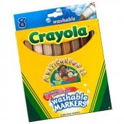 Crayola Educational 8 Multicultural Markers