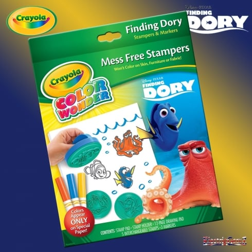 Crayola Finding Dory Color Wonder Stamper Set