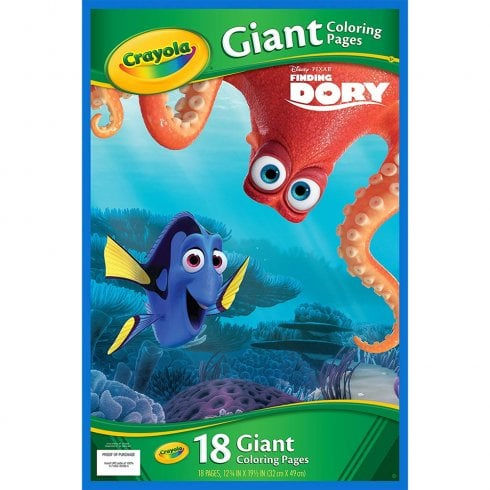 Crayola Finding Dory Giant Colouring Pages