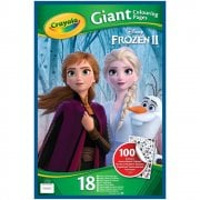 Disney Frozen Crayola Frozen 2 Giant Colouring Pages with Stickers