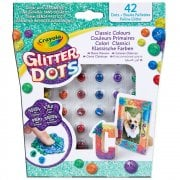 Crayola Glitter Dots - 42 Classic Colours Assortment