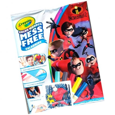 Crayola Incredibles 2 Color Wonder
