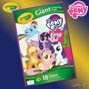 Crayola My Little Pony Giant Colouring Pages