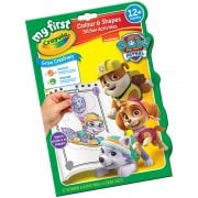 Crayola Paw Patrol Colour and Shapes Sticker Activities Album