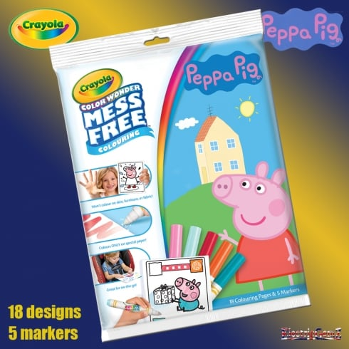 Crayola Peppa Pig Color Wonder