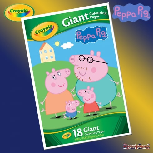 Crayola Peppa Pig Giant Colouring Pages