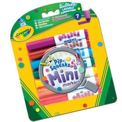 Crayola Pip-Squeaks 7 Mini Markers