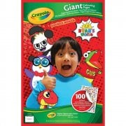 Crayola Ryan's World Giant Colouring Pages with Stickers