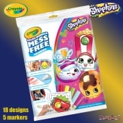 Crayola Shopkins Color Wonder