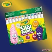 Crayola Silly Scents Broad Line Markers 12-Pack