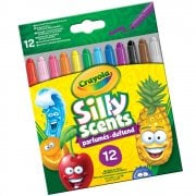Crayola Silly Scents Mini Twistables Crayons 12-Pack