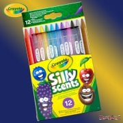 Crayola Silly Scents Twistables Coloured Pencils 12-Pack