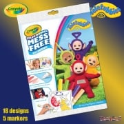 Crayola Teletubbies Color Wonder Set