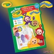 Crayola Teletubbies Colour & Shapes Sticker Activities Book