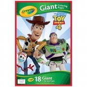 Crayola Toy Story 4 Giant Colouring Pages with Stickers