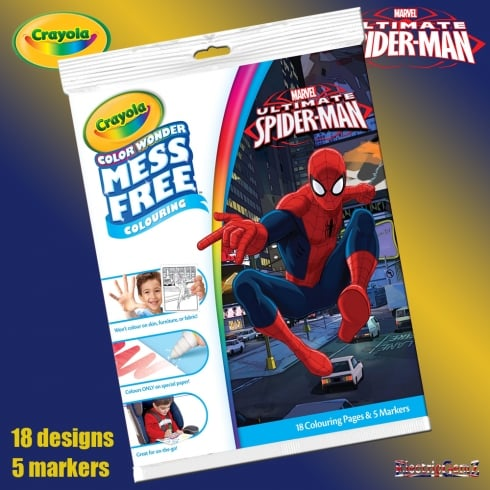 Crayola Ultimate Spider-Man Color Wonder