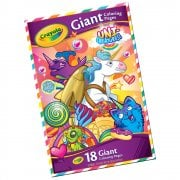Crayola Uni-Creatures Giant Colouring Pages