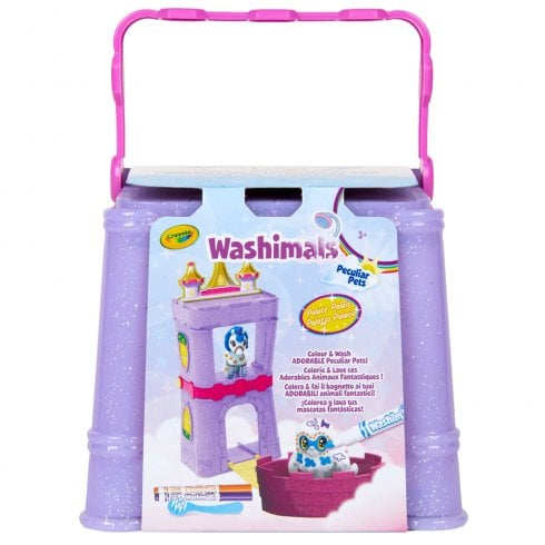 Crayola Washimals Peculiar Pets Carry Case