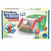Design & Drill Bolt Buddies Pick-It-Up-Truck with Working Power Drill