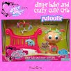 Ding-e Ding-e Baby Patootie and Puppy Crib