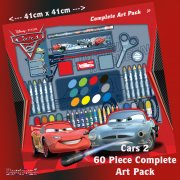 Disney Cars 2 60 Piece Complete Art Pack