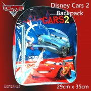 Disney Cars 2 Backpack