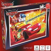 Disney Cars Neon 50 Piece Jigsaw Puzzle - Endurance Cup