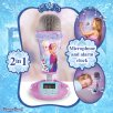 Disney Frozen 2-in-1 Microphone Alarm Clock