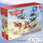 Disney Planes 15-Piece Shaped Floor Jigsaw Puzzle