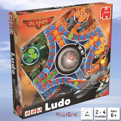 Disney Planes 2 Pop-It Ludo Game