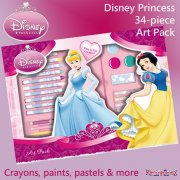 Disney Princess 34 Piece Art Pack