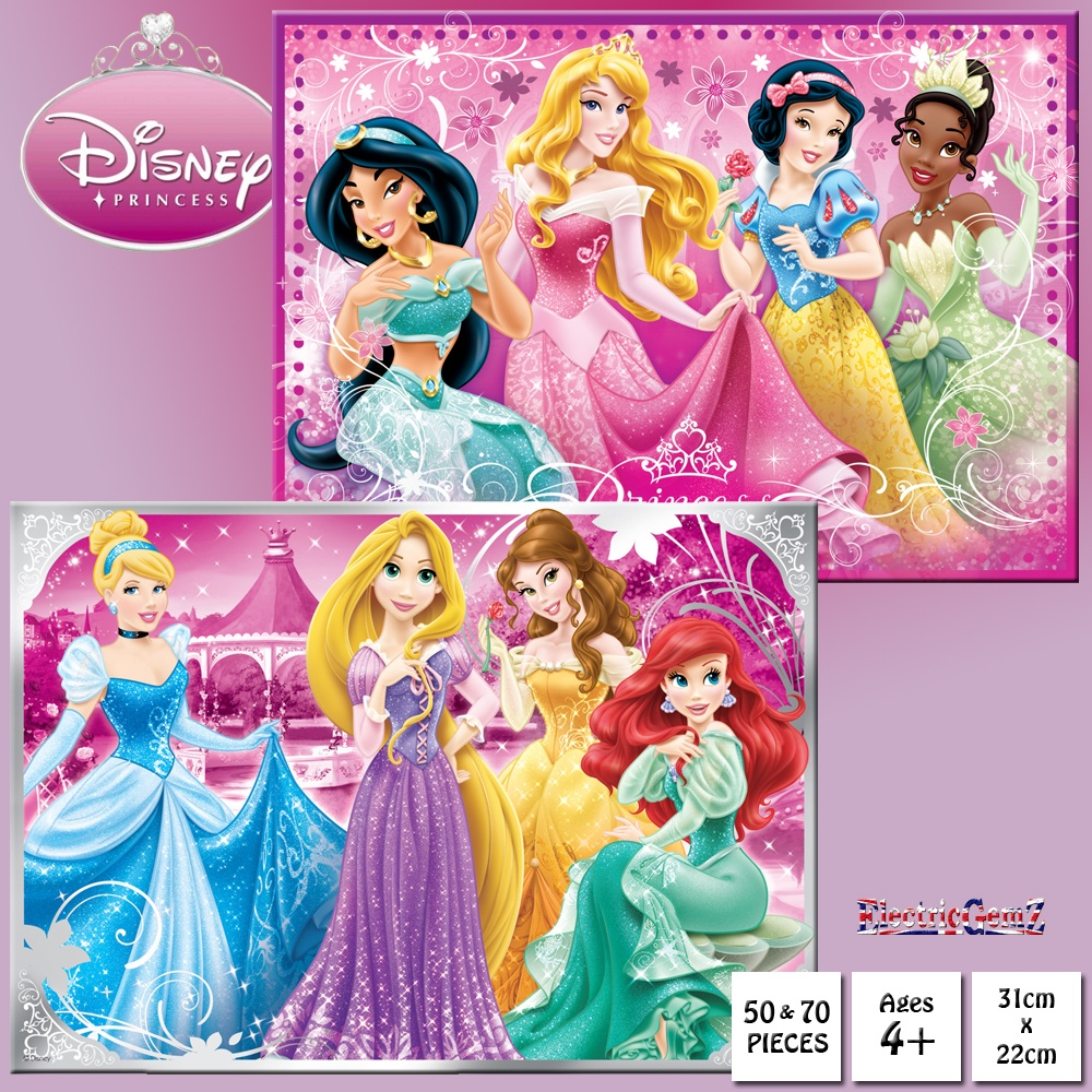 Disney Princess Jigsaw Puzzles Gift Box