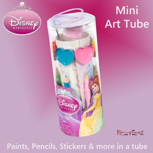 Disney Princess Mini Art Tube